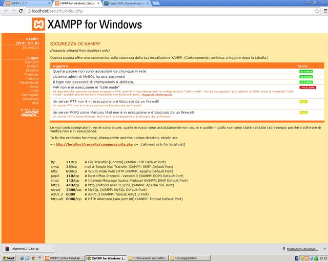 xampp-security-status